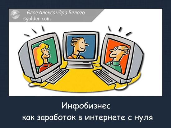 инфобизнес заработок в интернете